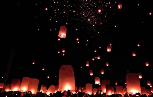 Itinerario viajar a Tailandia: festival Yi Peng, Chiang Mai