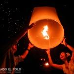 La emoción de la gente al soltar las lámparas :)