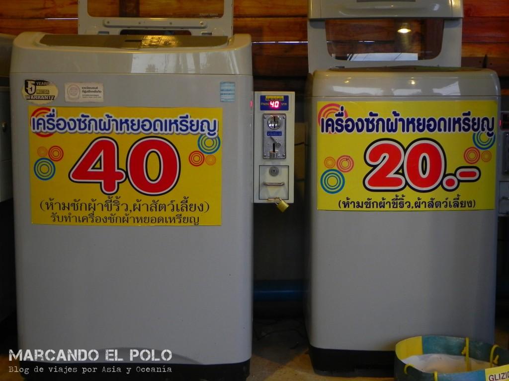 Lavarropas en Tailandia