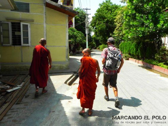 Monasterio en Mandalay