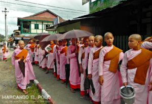 Itinerario para viajar a Myanmar: monjas buditas, Hsipaw