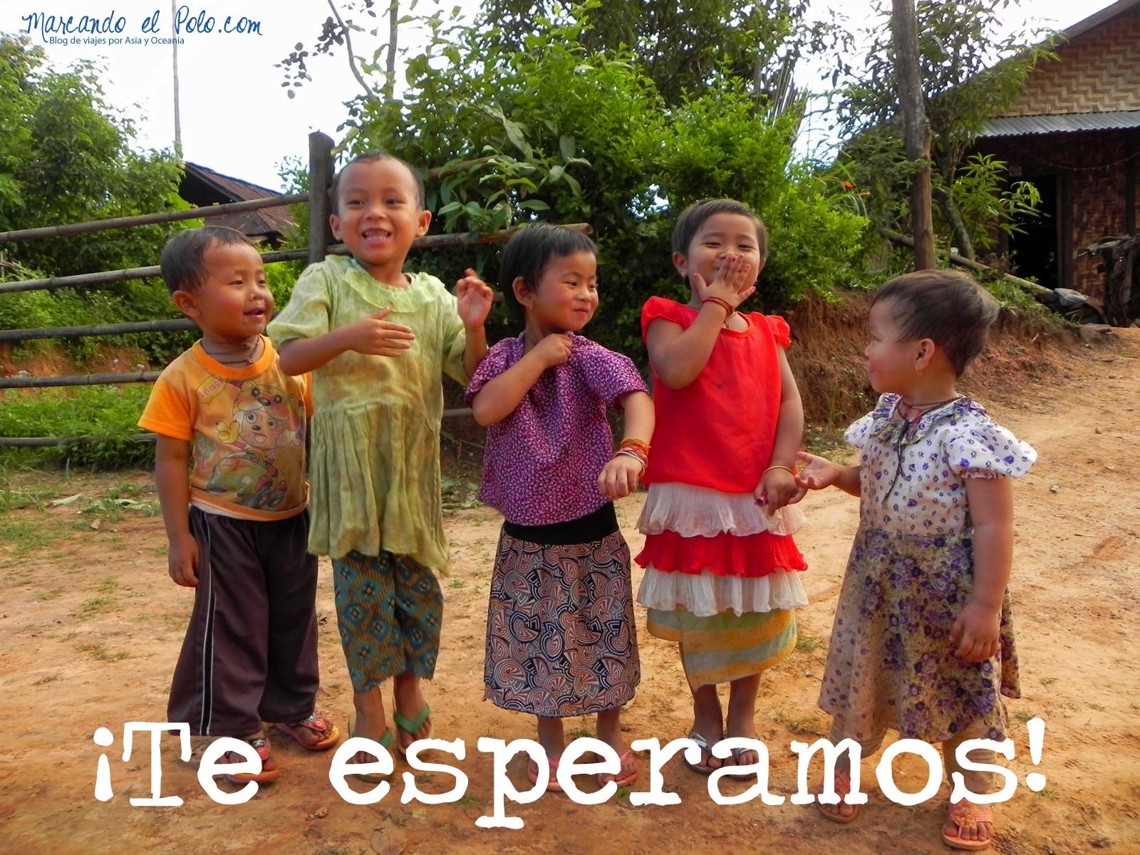 Nenes en Myanmar
