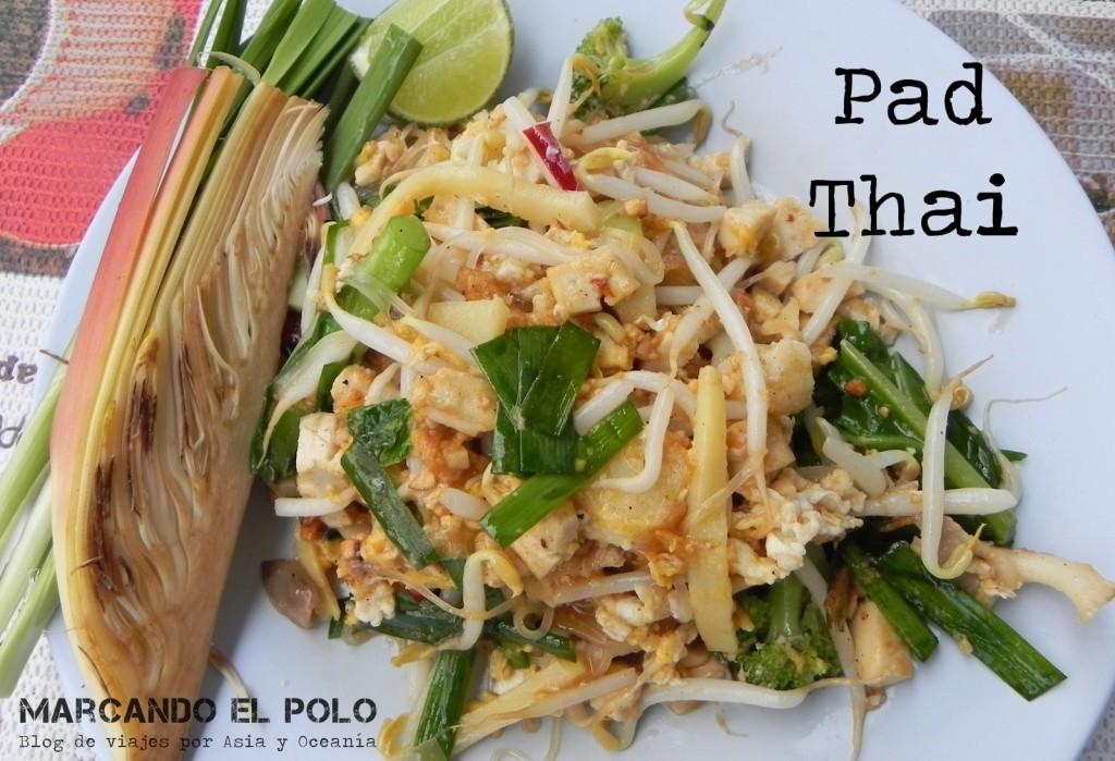 Pad thai, comida tailandesa