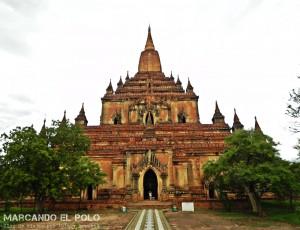 Itinerario para viajar a Myanmar: Templo Dhammayangyi, Bagan