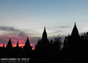 Templos Bagan, Myanmar