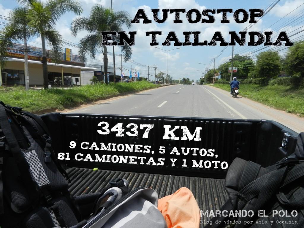 Viajar en autostop en Tailandia