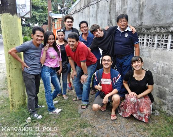 Autostop en Filipinas: banda de música en Ángeles