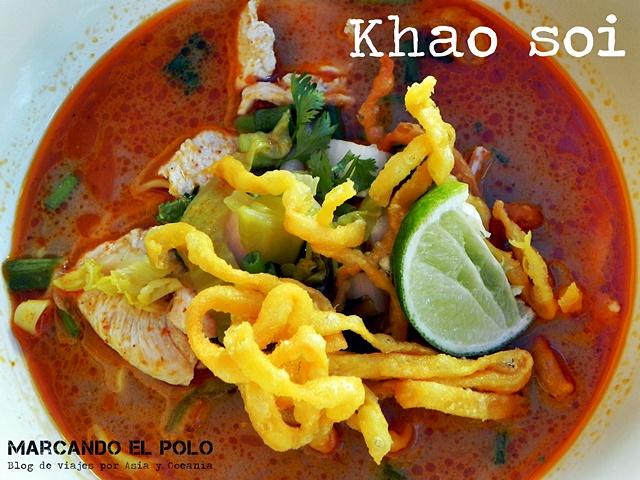 Comida Sudeste asiatico - Khao Soi, Tailandia