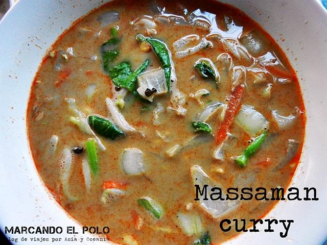 Comida Sudeste asiatico - Massaman curry, Tailandia