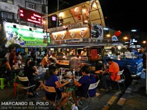 Itinerario para viajar a Tailandia: mercado nocturno, Songkhla