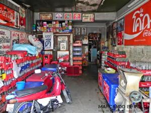 Itinerario para viajar a Tailandia: negocio de Coca Cola en Phetchaburi