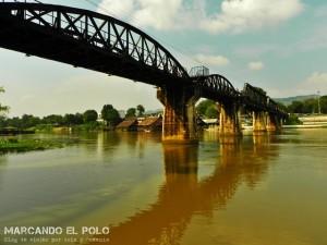 Itinerario para viajar a Tailandia: Puente sobre el río Kwai, Kanchanaburi