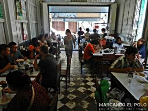 Itinerario para viajar a Tailandia: restaurante Kok Thai, Songkhla
