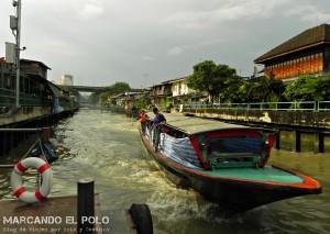 Itinerario para viajar a Tailandia: Saen Saep Express Boat, Bangkok