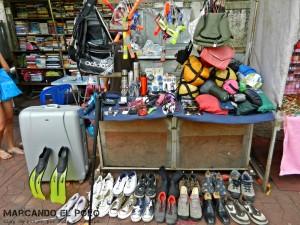 Itinerario para viajar a Tailandia: puestos segunda mano, Bangkok