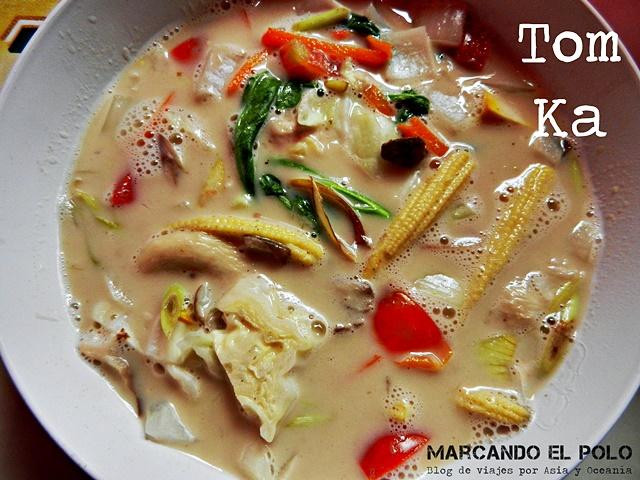 Comida Sudeste asiatico - Tom kha