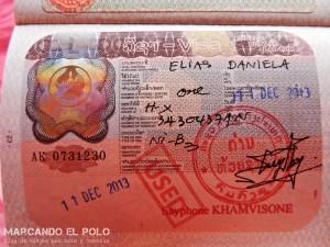 Viajar a Laos - Visa