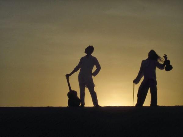 Foto: Teresa y Bruno, de Travel by violin