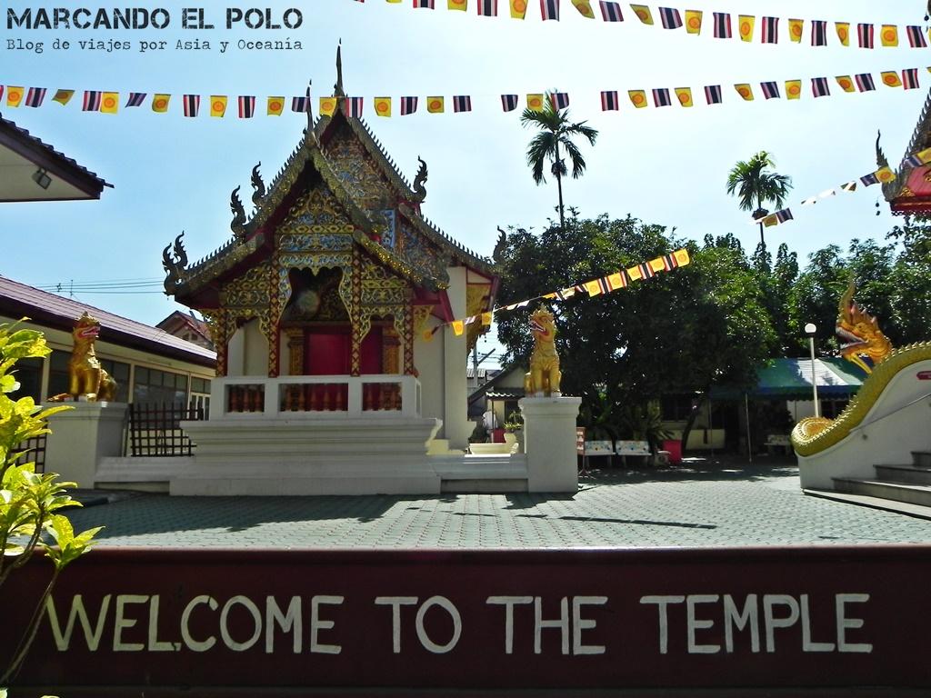 Itinerario viajar a Tailandia: templo Chiang Mai
