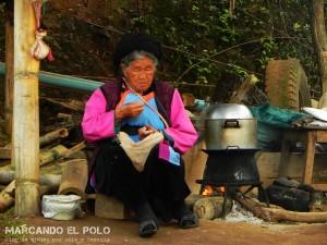 Itinerario viajar a Tailandia: tribu akha, Mae Salong