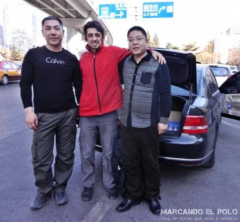Autostop en China: llegamos a Beijing