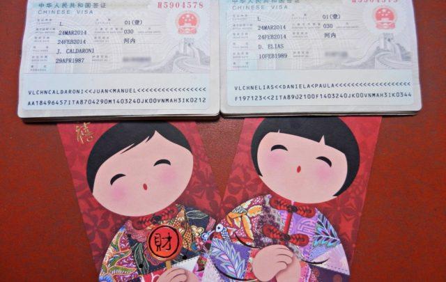 Viajar a China - Visa