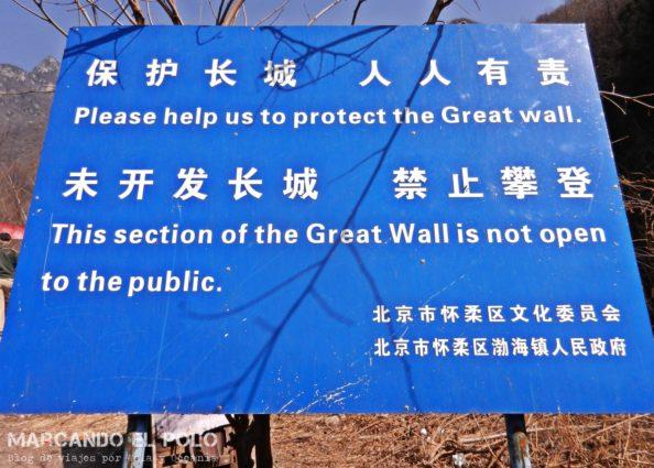 Gran muralla china - Front Jiankou 1