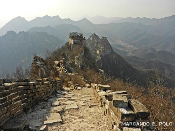 Gran Muralla China: front jiankou