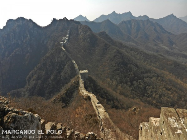 Gran muralla china - Jiankou 7