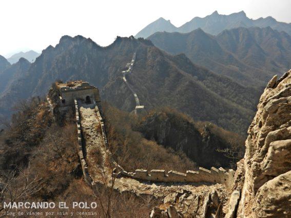 Gran muralla china - Front Jiankou 9