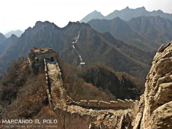 Gran muralla china - Jiankou 9