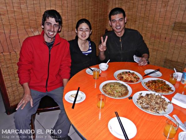 Viajar a dedo China: Couchsurfing en Shijiazhuang