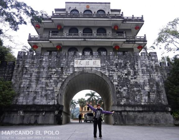 Viajar a dedo China: frontera China-Vietnam