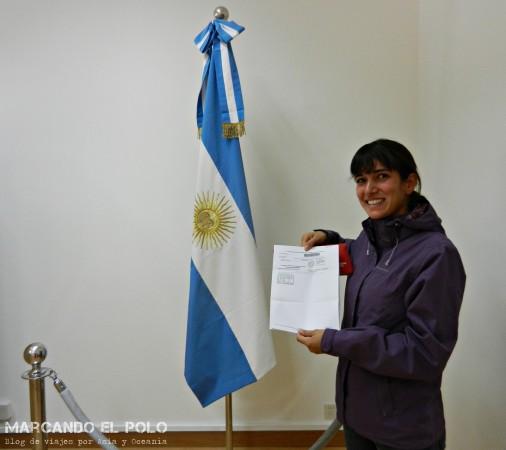 Viajar a dedo China: consulado argentino en Beijing