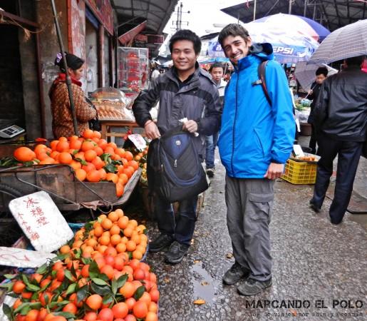 Viajar a dedo China: Guilin