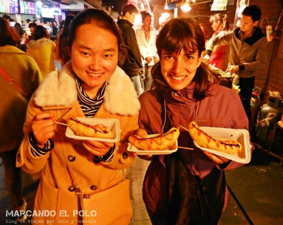 Viajar a dedo China: Couchsurfing en Wuhan