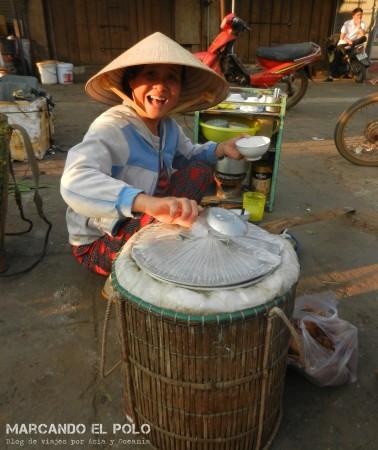 Viajar a Vietnam - mercado
