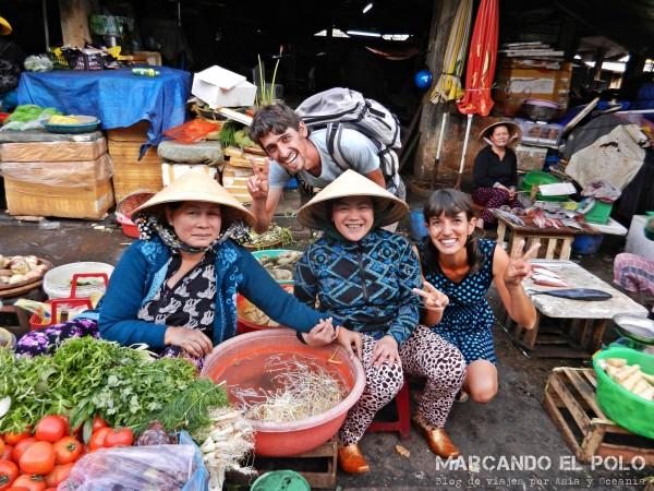 Viajar a Vietnam - mercados