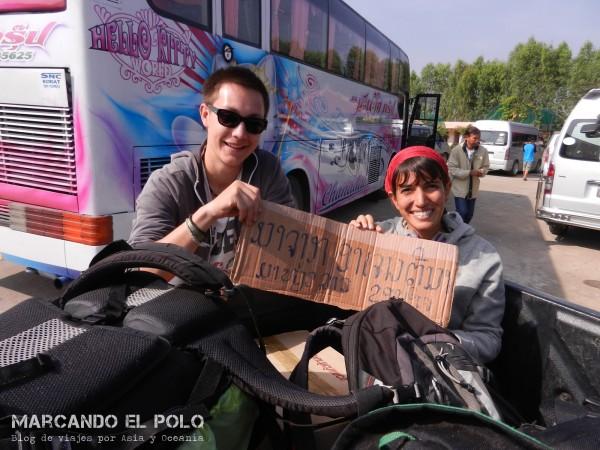 Nuestro compañero de viaje fue el ejemplo de todo lo que NO hay que hacer cuando se viaja en autostop