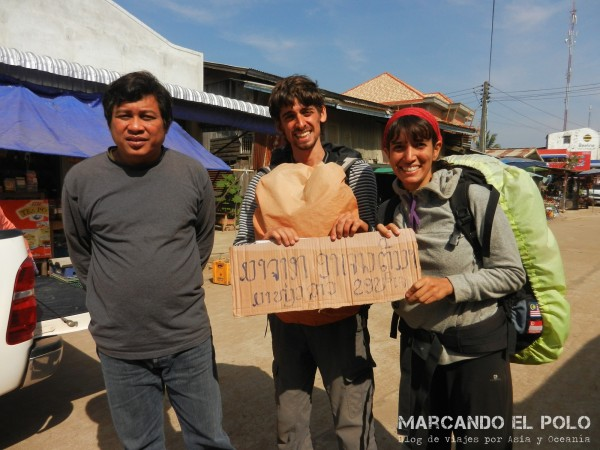 Viajar a dedo por Laos 13