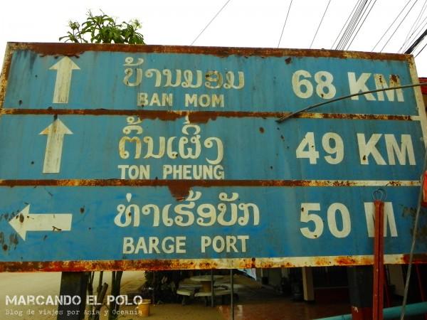 Viajar a dedo por Laos 14