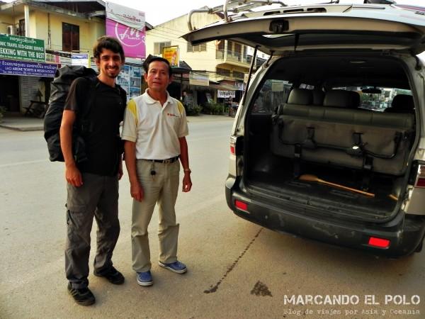Viajar a dedo por Laos 17
