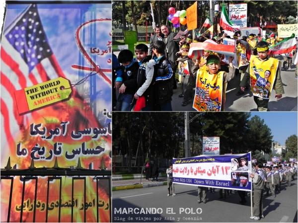 Esto es lo que nos muestran de Irán...