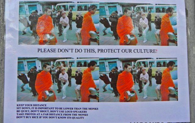 Viajar a Luang Prabang, Laos - peregrinación de monjes 3