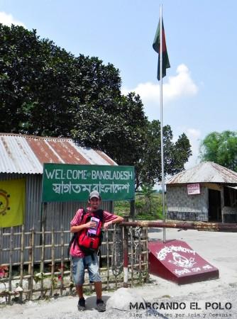 Viajar a Bangladesh - cruzando la frontera