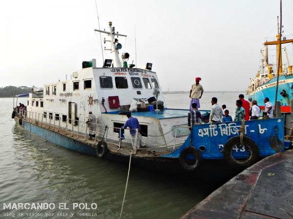 Viajar a Bangladesh - viajar en barco