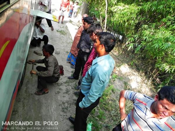 Viajar a Bangladesh - viajar en bus