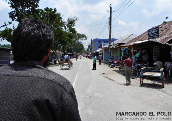 Viajar a Bangladesh - viajando en rickshaw