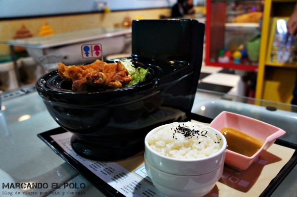 Restaurante temático inodoros Taiwan 9