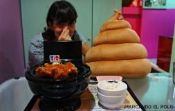 Restaurante temático inodoros Taiwan